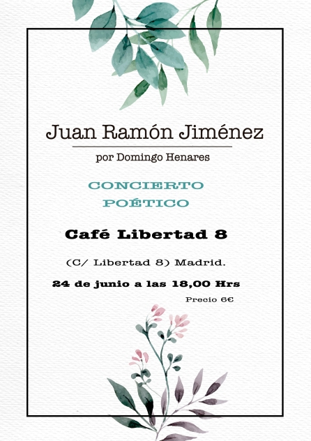 Base Cartel Juan Ramón Jiménez